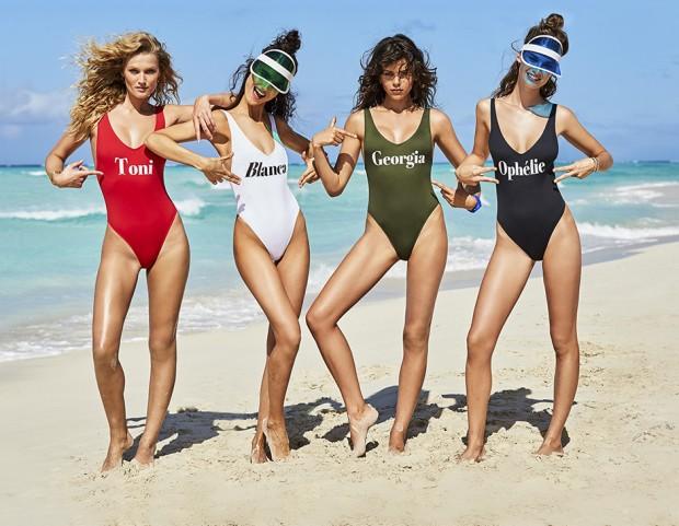 Calzedonia Beachwear 2017: la campagna pubblicitaria #GIRLGANG - Tu ...