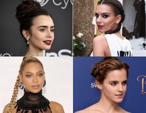 Trecce: copia i look capelli delle star