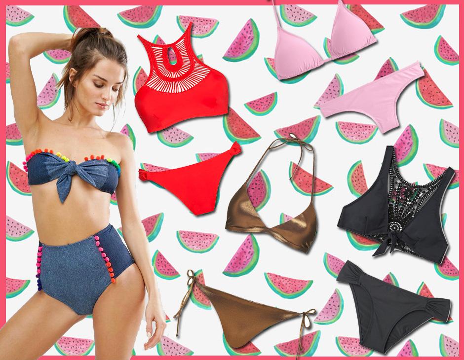 ed0b7c3ff0 Dal classico triangolo a tinta unita ai modelli più originali con ricami,  dettagli cut-out e inserti crochet: ecco i bikini più belli da acquistare  per ...