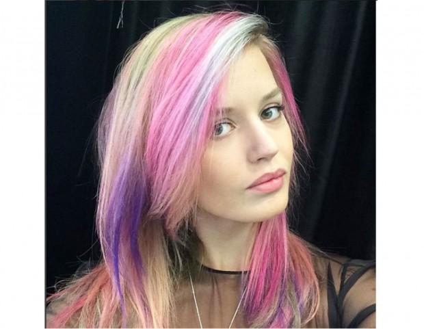 Georgia May Jagger sperimenta sempre gli ultimi trend di colore per capelli  (Photo credit  3032a6c5000b