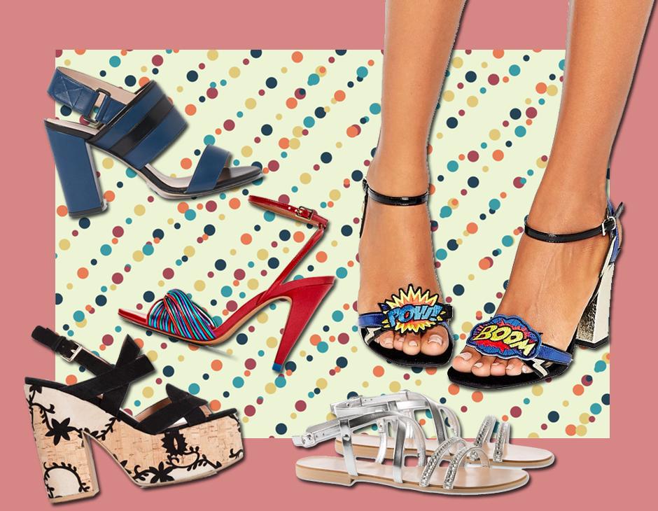 1e3211533a4f8e Bassi, con tacco alto o medio, semplici o preziosi: come saranno i sandali  della tua estate? Ecco i nostri preferiti, davvero da perderci la testa  (collage: ...