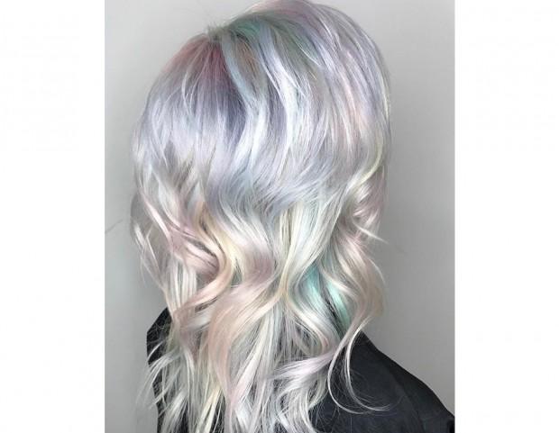 Opal hair su capelli mossi