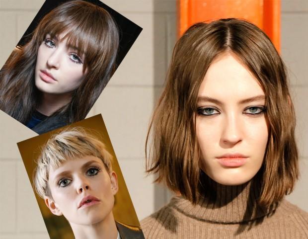 Tagli di capelli corti e pari