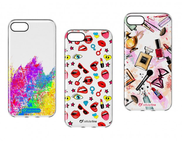Style Case Art, Pop e Glam in gomma morbida per iPhone, Huawei, Samsung