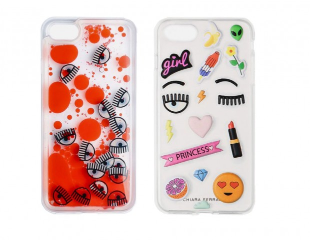 iPhone cover: stickers e liquid and eye