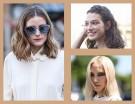 Sfoglia la gallery e scopri tutte le tendenze per i tagli di capelli medi dallo street style e dalle passerelle! (Collage di Francesca Merlo)