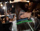 Per Byblos l'hairlook curato da GHD ha realizzato un'acconciatura ispirata alle arti marziali giapponesi.