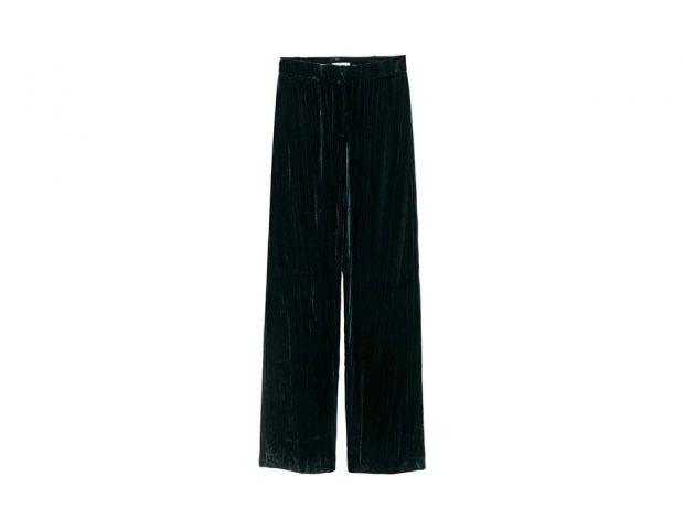 Pantaloni ampi in velluto