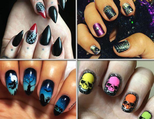 Sfoglia le nail art più pazze e curiose per unghie in perfetto stile  Halloween! 101a17839f74