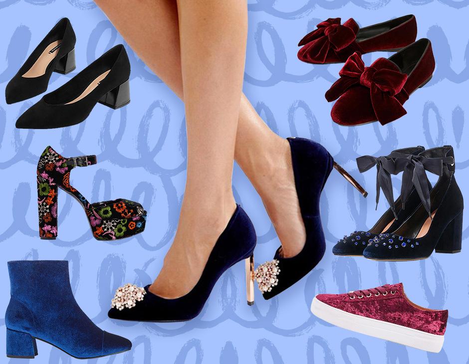 Scarpe di velluto  le versioni più glam su cui puntare - Tu Style e15270907ff