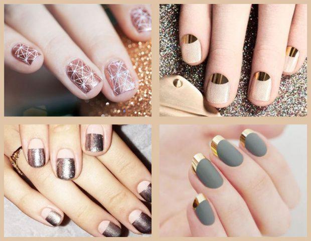 La nail art ispirata ai metalli preziosi è la tendenza del momento! Sfoglia la gallery e lasciati ispirare dalle proposte che abbiamo selezionato per te! (Photo credit Pinterest @pshiiit.com, @wheretoget.it, @StyleHaul Lisa, @camillelavie.com, collage di Francesca Merlo)