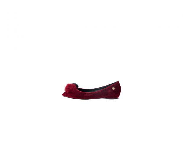 de para terciopelo Zapatos tacón rojomoterossandalias el zapatos de y invierno OZPiXku