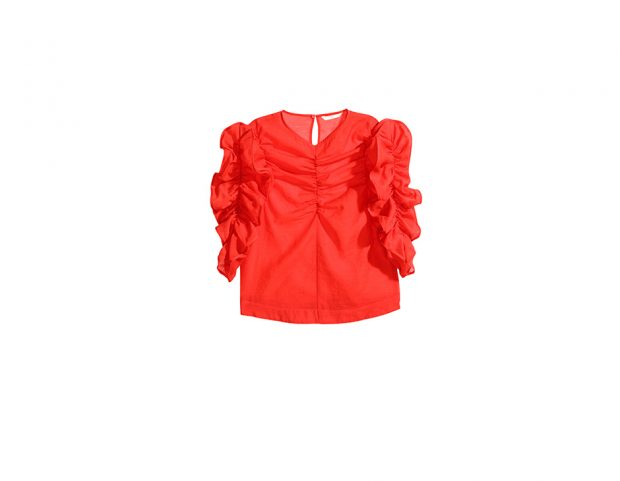 Blusa in georgette