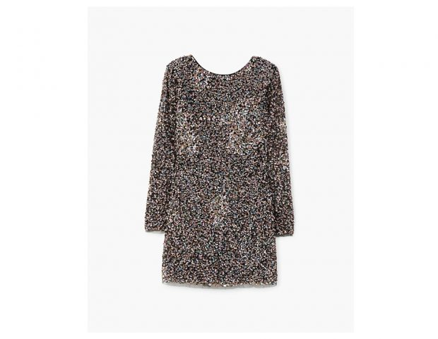 Minidress di paillettes