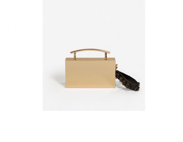 Minibag in metallo gold
