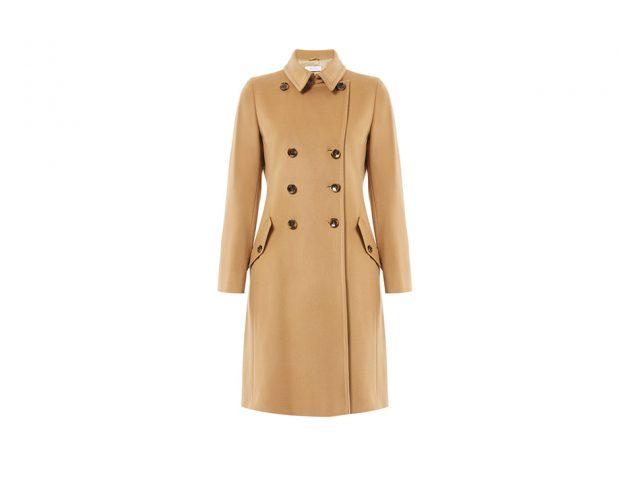 Cappotto cammello in lana e cashmere