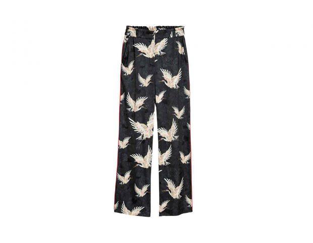 Pantaloni in stile pijama