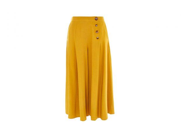 Culotte pants con bottoni