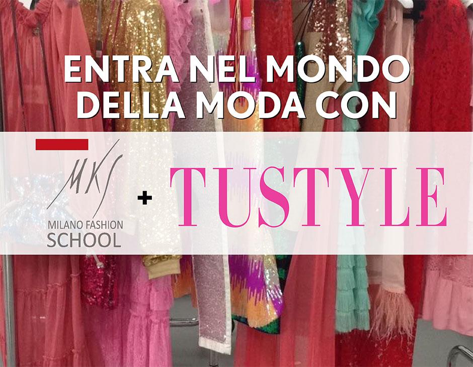 Sogni la moda mks milano fashion school ti offre 2 borse for Fashion designer milano