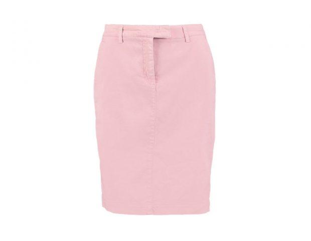 Pencil skirt rosa
