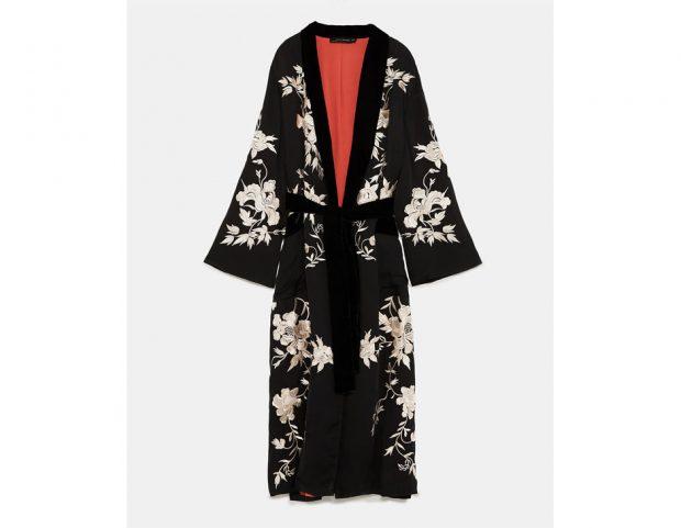 Kimono ricamato