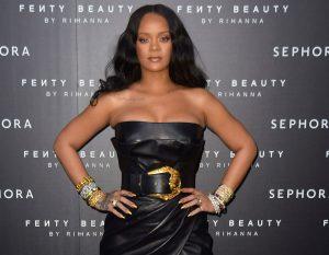 Rihanna a Milano per il lancio in Italia della sua linea Fenty Beauty