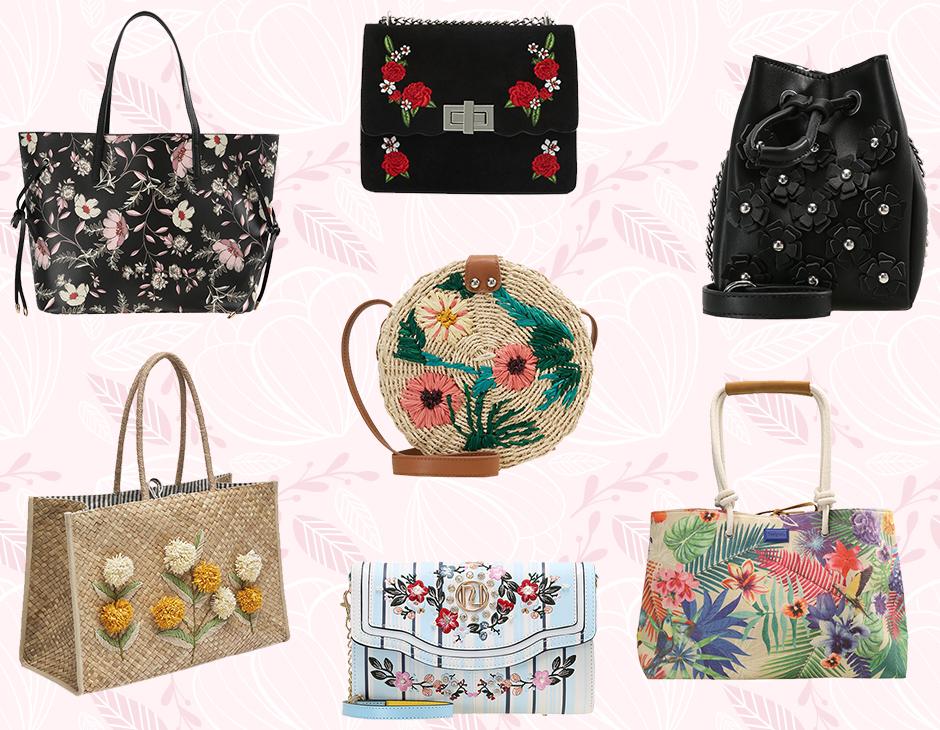 Borse a fiori: i modelli must have della primavera 2018