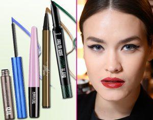 Make up: eyeliner colorati, tutte le novità!