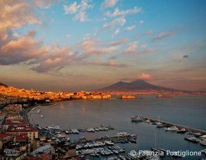 Wine&Thecity Napoli Vesuvio tramonto