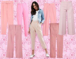 I pantaloni più cool di stagione? Sono rosa!
