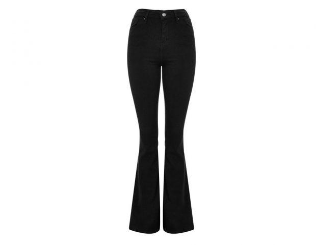 Black Flared Jamie Jeans