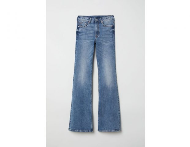 Flared High Jeans