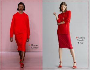 Tendenza rosso: abiti e accessori per il total look dell