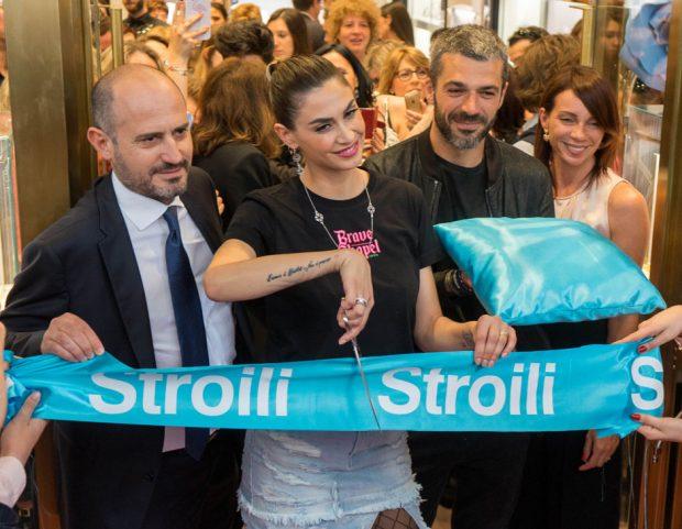 Melissa Satta e Luca Argentero tagliano il nastro