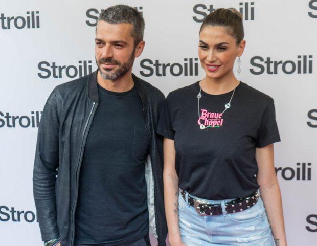 Melissa Satta e Luca Argentero all'inaugurazione della nuova boutique Stroili