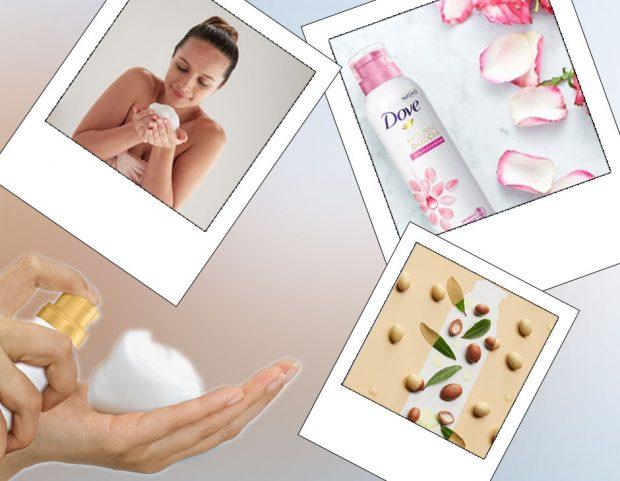 La nuova Mousse Doccia di Dove trasforma la tua doccia quotidiana in un'esperienza sensoriale! Sfoglia la gallery e scopri le profumazioni agli oli nutrienti naturali.