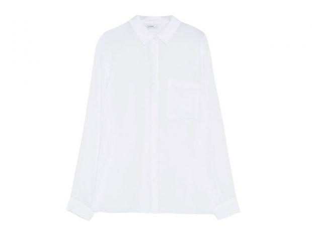 Camicia bianca casual