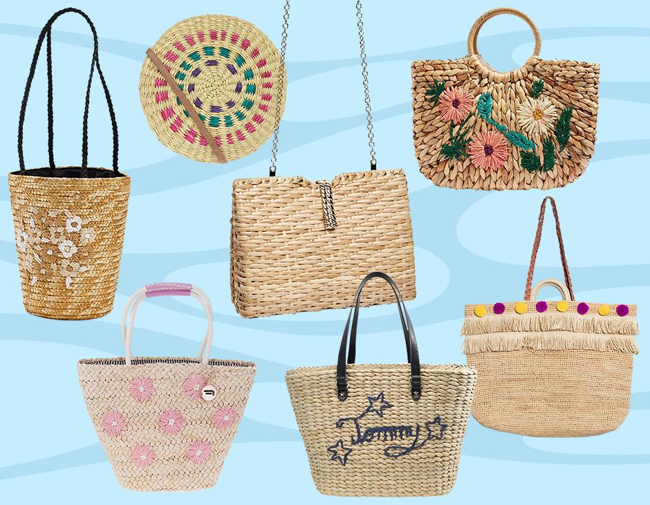 531c0b37e7 Il beachwear più glam va a braccetto con lei: la bag di paglia perfetta per  i momenti di tintarella e bagni salati ma anche per lo shopping e gli  outfit ...