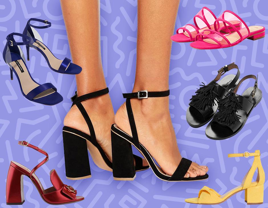 46849f4d9b67b I sandali più cool di stagione  Che tu preferisca quelli i modelli bassi o  quelli con tacco