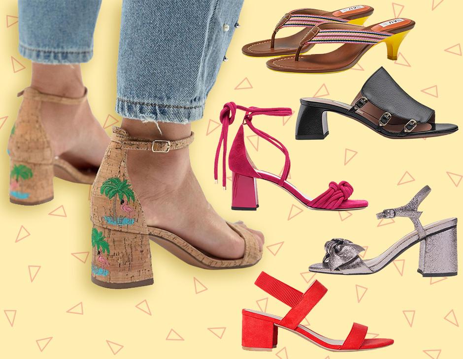 Sandalo con tacco medio must  i modelli must medio have della primavera estate 2018 fe496c