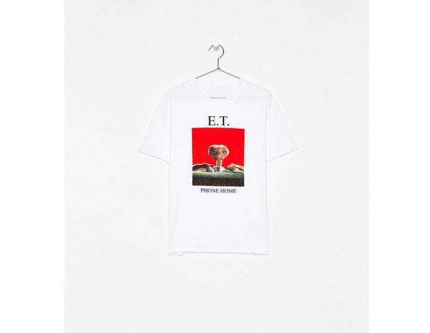 Maglietta con stampa E.T.
