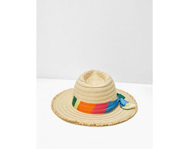 Cappello fedora dettaglio fazzoletto