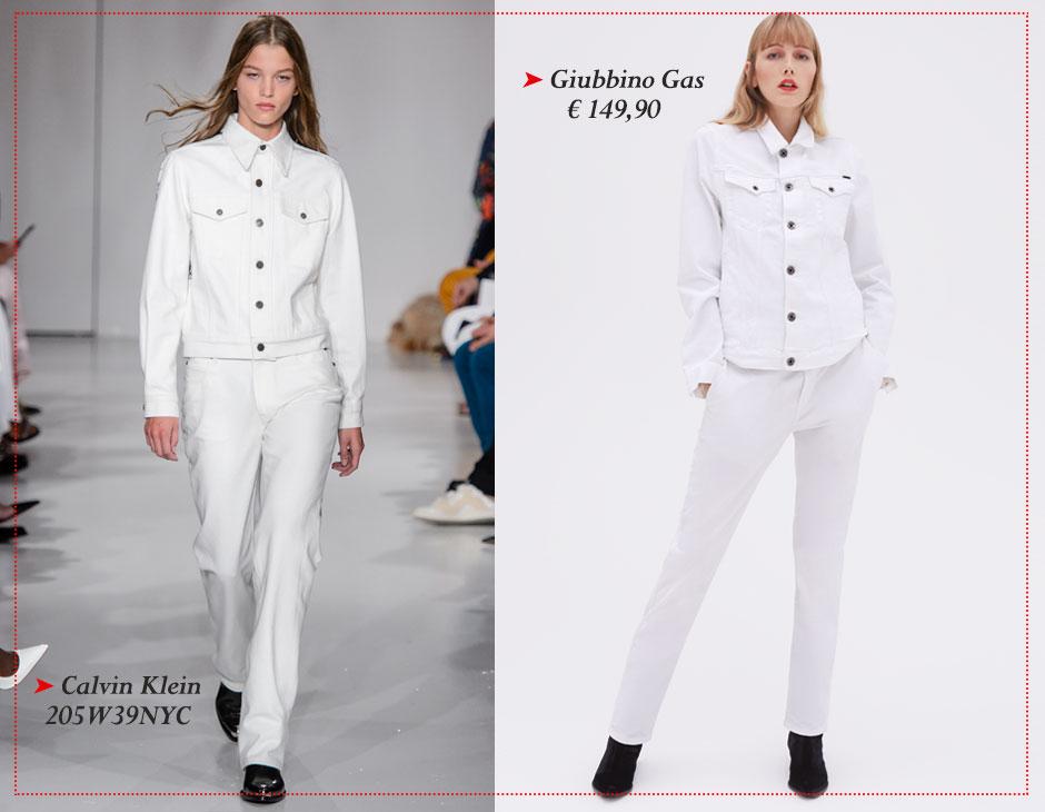 Must Bianco Denim Giacca Tu Style E Jeans Have TAI7RU