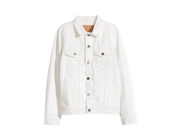 Classica giacca in denim