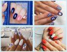 Volete provare le unghie alla marinière? Abbiamo scelto le nail art più belle per quest'estate, sfoglia la gallery per scoprirle tutte! (Photo credits: instagram @redheadnails, @jannikeivalje, @sylwianowak, @lakiemik_nails, collage di Francesca Merlo)