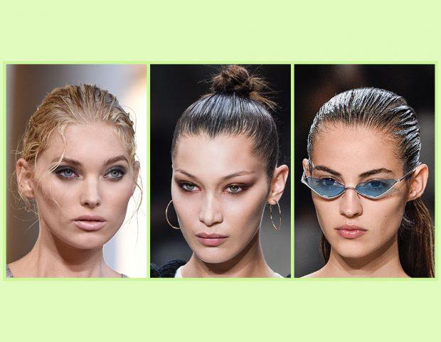 Vuoi provare la tendenza dei capelli a effetto bagnato  Sfoglia la gallery  e prova a 95b43a04d05c