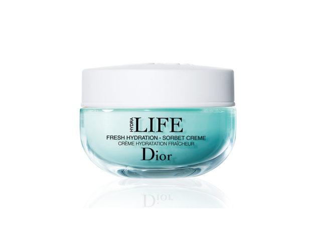 Crema sorbetto leggera che idrata, nutre e riequilibra la pelle contribuendo a rinforzare le sue difese naturali