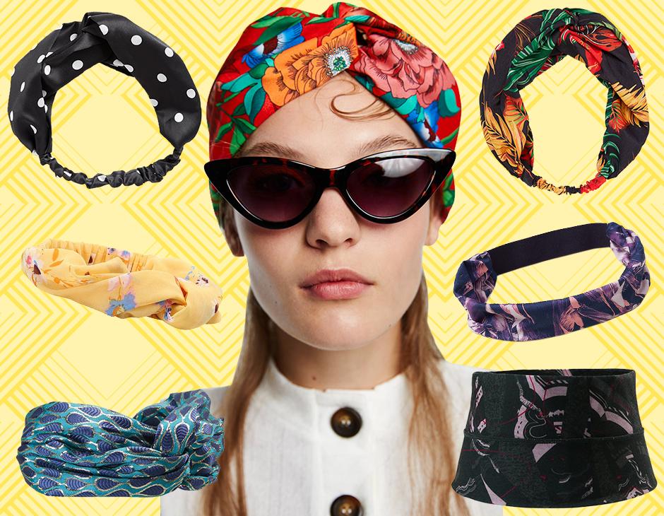 L hairstyle di quest estate non può rinunciare al tocco glam di turbanti e  fasce per capelli. Ecco 10 esemplari di questi accessori must have per  essere ... 654c41aaf8b0