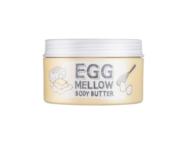 Ricca crema per il corpo con una combinazione di uovo + burro + olio per una massima idratazione