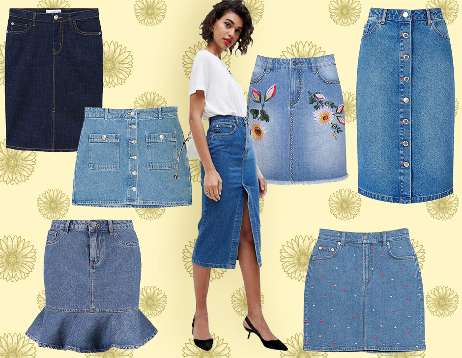 official photos a020e 0999f Gonne di jeans: i modelli must have dell'estate 2018